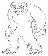 Yeti Coloring Wampa Pages Draw Wars Star Drawing Cartoon Drawings Simple Template Sketch Cartoons 632px 22kb sketch template