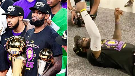 Dec 16, 2019 · lebron james apologizes to his mother for telling her to tone it down during his aau games. NBA Finals 2020: LeBron James' heartwarming moment with mum
