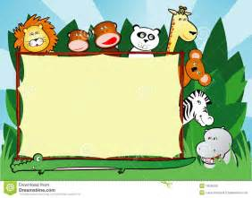 Free Clip Art Jungle Animals Background
