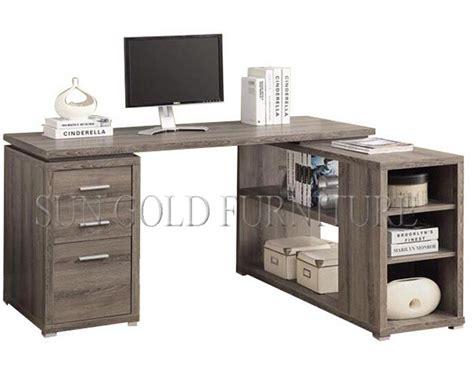 armoire bureau informatique moderne en forme de l meubles en bois ordinateur de bureau