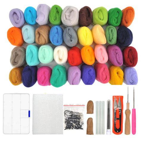 needle felting kit natural felting wool felt starter set
