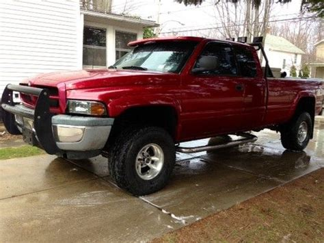 car manuals free online 1998 dodge ram 1500 club seat position control find used 1998 dodge ram 1500 crew cab 4x4 5 2 cold air intake manual lifted in fredonia new