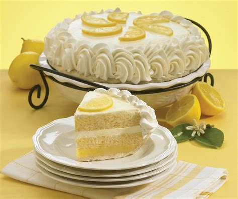 luscious lemon cake pie  marie callenders spring