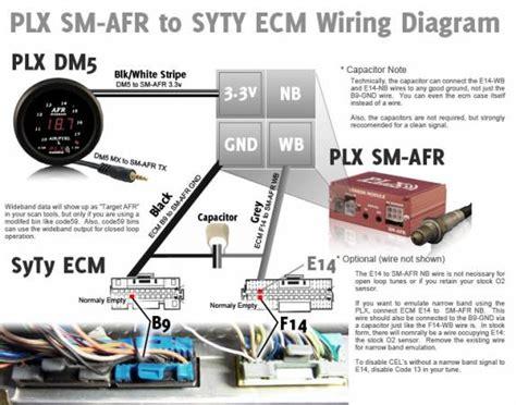 Wiring The Plx Afr Wideband Oxygen Sensor Gmc Syclone