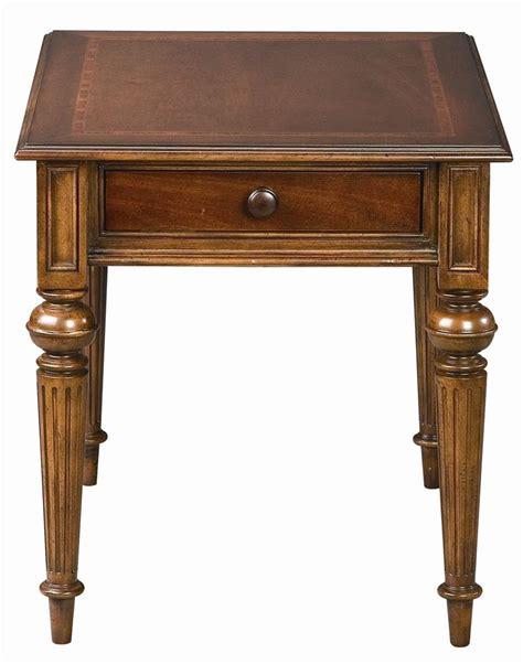 thomasville 174 fredericksburg rectangular end table with one