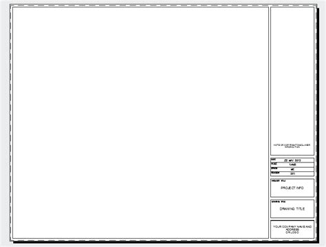 autocad templates autocad title block template images template design ideas