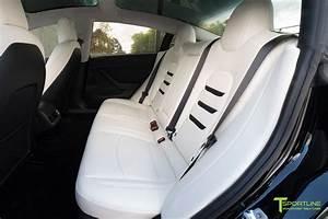 Tesla Model 3 Seat Upgrade Interior Kit - Insignia Design - Perforated | Tesla model, Tesla, Model