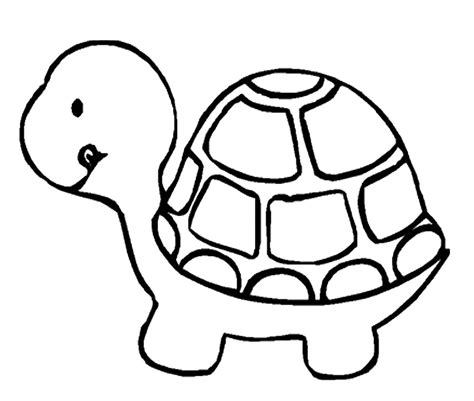Cute Turtle Coloring Pages Getcoloringpagescom