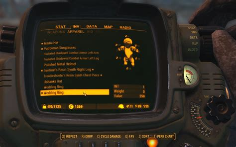 functional wedding rings fallout 4 fo4 mods