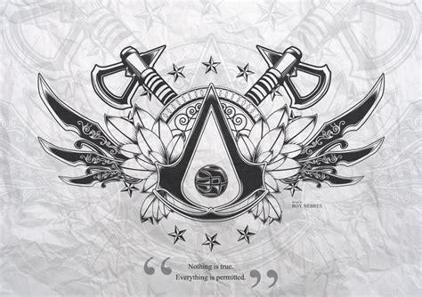Best 25+ Assassins Creed Tattoo Ideas On Pinterest