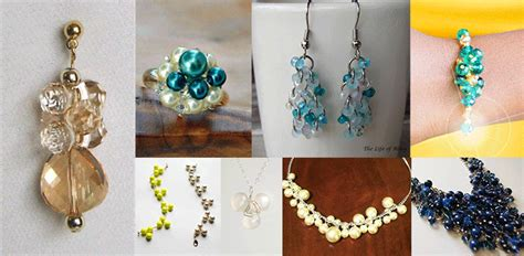 Online Jewelry Making Newsletter Clustered Jewelry Making