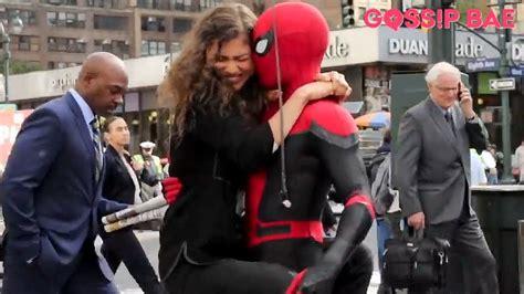 @tomholland1996 (tom holland) @zendaya (zendaya). Spiderman filming with Zendaya and Tom Holland! - YouTube