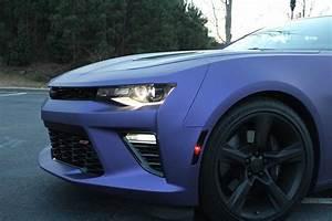 Purple 2016 Chevrolet Camaro SS Is No Plum Crazy ...