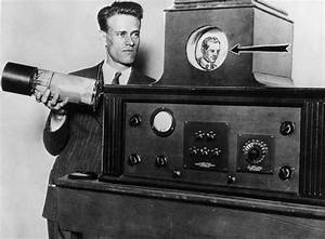 First complete television invented in 1927 by Philo ...