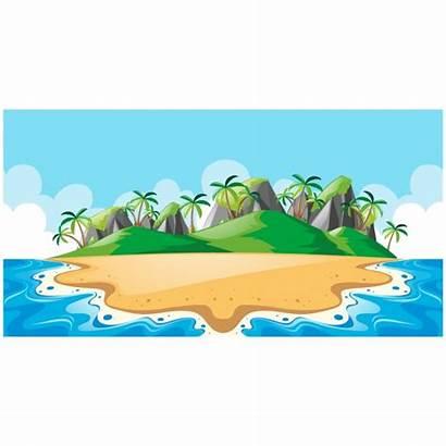 Island Background Clipart Vector Psd Vectors Freepik
