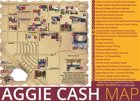 aggie cash id card services  mexico state university