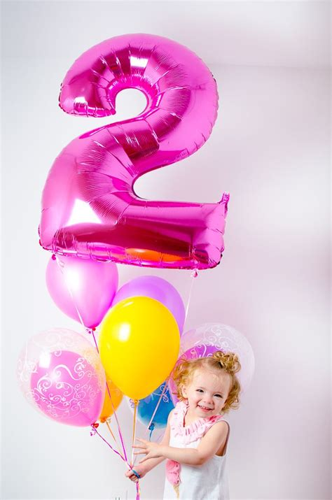 Happy Birthday Picture 2 by 2 Year Birthday Portraits With Balloons Tabulous