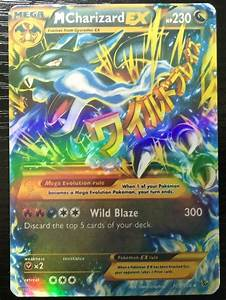 20pcs New Mega EX Pokemon Cards Charizard Pack In English ...