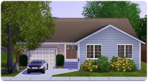 sims  blog small family home  home