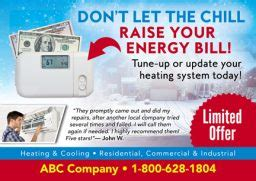 brilliant hvac advertising marketing direct mail