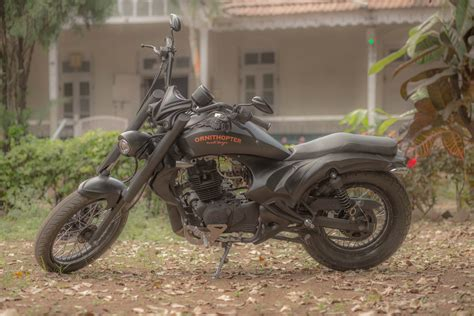 modified bajaj avenger 200 ornithopter moto design 350cc