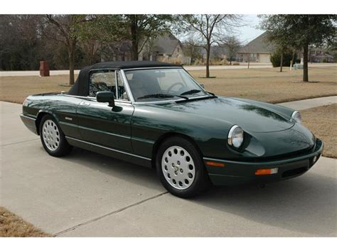 all car manuals free 1993 alfa romeo spider regenerative braking classifieds for classic alfa romeo 94 available