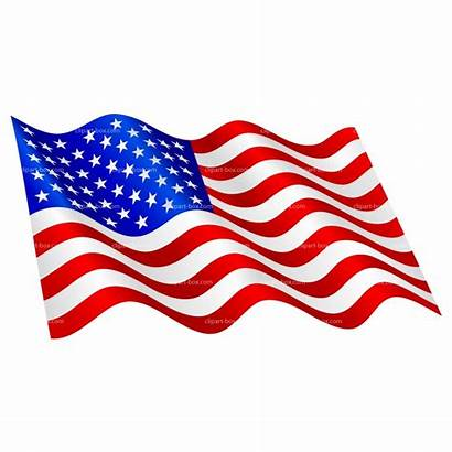 Flag American Clipart Usa Graphics Heart Shaped