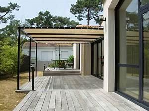 Toile Extérieure Pour Terrasse : toile tendue pour terrasse voile d ombrage rouge chromeleon ~ Melissatoandfro.com Idées de Décoration