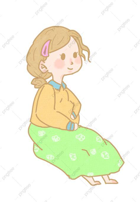 Masa kehamilan ibu hamil dianjurkan minum asam folat. 20+ Ide Ibu Hamil Kartun - Mopppy