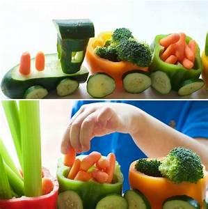 Gemüse Für Kinder : essen f r kinder witzig gestalten mit diesen originellen ideen ~ A.2002-acura-tl-radio.info Haus und Dekorationen
