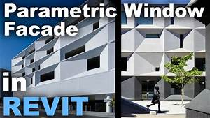 Parametric Window Facade Design In Revit Tutorial