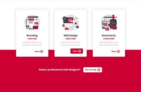 Divi Pricing Pricing Tables Divi Kit 4 Animated Ui Modules