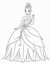 Coloring Princess Pages sketch template