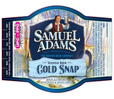Image result for samuel adams cold snap