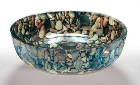 river rock  vessel sink uvlfza