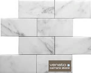 7sf carrara subway tile marble 3x6 quot