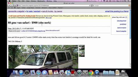 craigslist zanesville ohio  cars  sale  owner