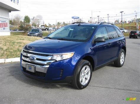 2013 Ford Edge Se by Impact Blue Metallic 2013 Ford Edge Se Awd Exterior