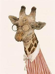 Sport Party Invitations Giraffe Art Print By Monde Mosaic Notonthehighstreet Com