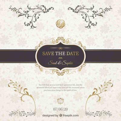 contoh desain undangan pernikahan unik  minimalis