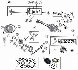 Diagrams For Jeep    Axle  U0026 Differential    Model 35 Rear