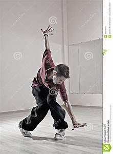 Hip-hop Boy In Dance Studio Stock Image - Image: 10224819