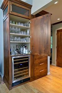 hidden-liquor-cabinet-Kitchen-Traditional-with-award