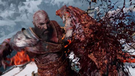 Here Are God Of War PS4's Most Vicious Executions - GameSpot