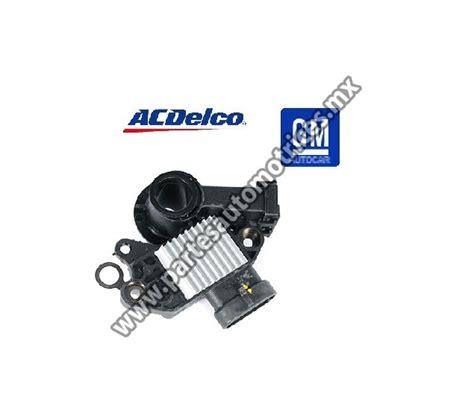 regulador de voltaje acdelco para chevrolet silverado partes automotrices