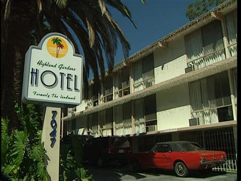 highland gardens hotel hotel los angeles estados unidos sd stock 658