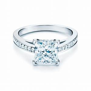 Grace princess cut diamond engagement ring tiffany co for Wedding ring companies