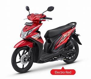 New Honda Beat Injeksi Electro Red