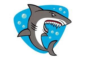 Cartoon Shark Vector Free