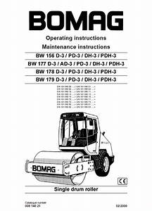 Bomag Bw156  Pd  Dh  Pdh